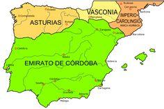 Map Iberian Peninsula - Kingdom of Navarre - Wikipedia Toulouse, Kingdom Of Navarre, Charles Quint, Abbasid Caliphate, Spain History, European History, Asturias Spain, Genealogy Chart, Iberian Peninsula