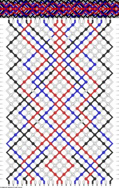 24 strings, 36 rows, 4 colors