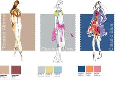 Pantone Fashion Week Report: Designers Pick Their Spring 2015 Colors - Accessories Magazine Spring 2015 Fashion, Spring Summer 2015, Pantone Colors 2015, Pantone 2015, Allure Couture, Collage, Fashion Colours, Summer Colors, Girls Be Like