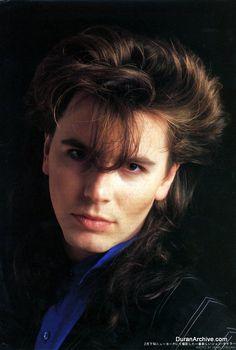 John Taylor Japanese pinup - Duran Archive   Duran Archive