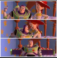 Buzz and Jessie love