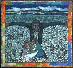 Faith Ringgold  Born in a Cotton Field