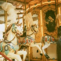 Just read Catcher in the Rye with a scene on a carousel. I truly enjoyed that book