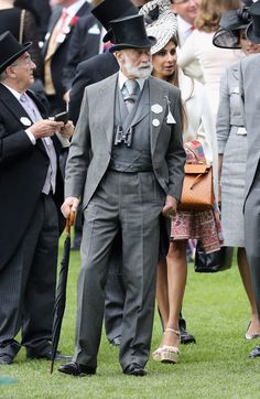 Pin for Later: See All The Best Photos of The Royal Family at Royal Ascot Day 3 Prince Michael of Kent