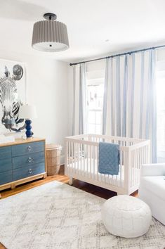 Neutral Baby Boy Nursery with Pops of Blue – This Life of Ours Baby Blue Nursery, Boy Nursery Themes, Baby Boy Rooms, Baby Boy Nurseries, Nursery Ideas, Baby Boys, Boy Nursey, Nursery Decor, Nursery Pictures