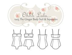 Ohhh Lulu The Ginger Body Suit and Separates PDF by OhhhLuluSews