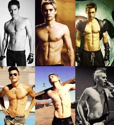 jared leto shirtless....I can work with this:p