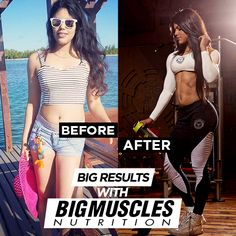 #Believe in yourself! Take a look at the #transformation, supported by #BigMusclesNutrition