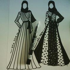 Design with black spidol
