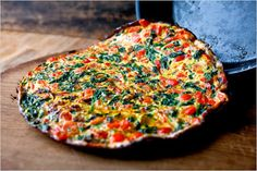 The FODMAP Foodie: FODMAP Friendly Recipe: Spinach, Pepper and Bacon Frittata