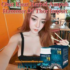 Obat Kuat Herbal Ampuh Hammer Of Thor Impor