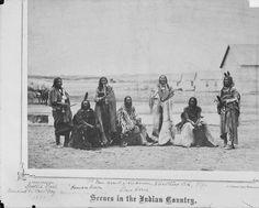 Spotted Elk (Sicangu) Roman Nose (Mniconjou) Afraid Of His Horse (Oglala) Long Arm (Maniconjou) Pipe (Oglala) Slow Bull (Oglala) 1868