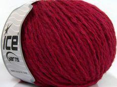Fiber Content 50% Acrylic, 25% Wool, 25% Viscose, Brand ICE, Fuchsia, fnt2-40603