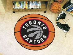 The Toronto Raptors Basketball Mat by FanMats