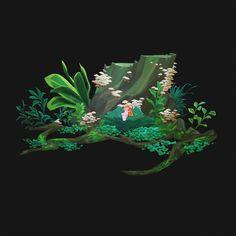 ArtStation - faerie sprout, Iris Muddy A.