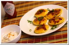 low carb!  I love potato skins, this sounds like a GREAT alternative!