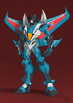 This is probably my favorite Seeker design ever. Of all time. Credit for this awesome Transformers art goes to Guidi with coloring by VaderPrime1. ~ Thundercracker version ~