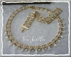 schémas collier et bracelet Evora