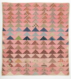 Flying Geese quilt c. 1870