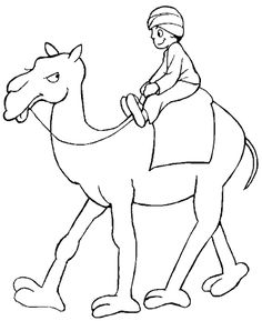 25 best camel coloring pages for your naughty kid