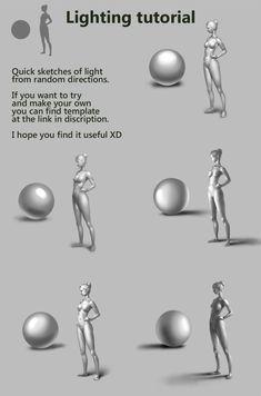 Light directions tutorial by DmitryGrebenkov