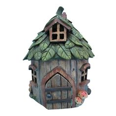 Found it at Wayfair - Fairy Leaf Roof Garden House