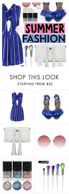"""Yoins #6"" by tasnime-ben ❤ liked on Polyvore featuring Linda Farrow, yoins and yoinscollection"