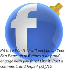 ~How to Engage your Facebook Fans~  Like it, Comment On It, and   Repin to Win!  5 Days of FaceBook Management from http://assistsocialmedia.com #FanbookTips