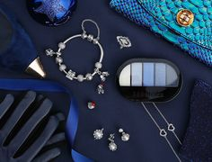 Blue is the must have color this Christmas - be sure to get your dose #PANDORAmagazine