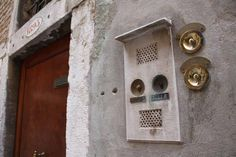 Some very old fashioned bells in San Gimigniano, Toscana, Italy