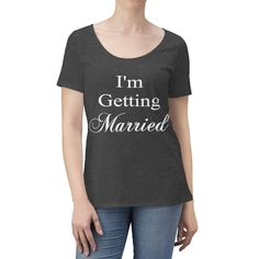 Excited to share this item from my shop: So We're Getting Drunk Women's Scoop Neck T-shirt - Various Colors - Bachelorette Party Shirt, Bridal Shower Gift, Wedding Present Wedding Shower Gifts, Gift Wedding, Drunk Woman, Bachelorette Party Shirts, Getting Drunk, Married Woman, Cute Tshirts, Powerful Women, Warm Weather