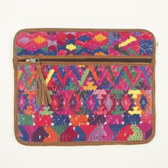 Mayan iPad Case Ethical Hand Made - Athinaeum - One Off Hand Made Mayan Handbags + Accessories