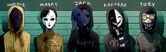 Masks by Alloween on DeviantArt
