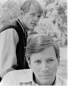 Nick Nolte and Peter Strauss----------TV series Rich Man poor Man