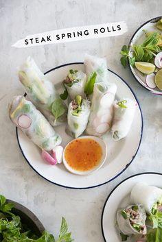 spring rolls | designlovefest