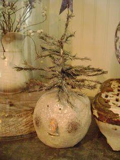 sweet pea home: The Spirit Of Christmas - so cute!