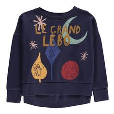 bobo choses magic powders sweatshirt from Kodomo Boston #Kidsfashion  #bobochoses