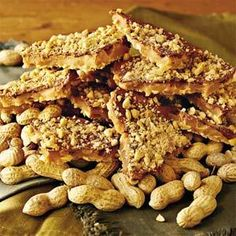Microwave Peanut Toffee | Southern Living