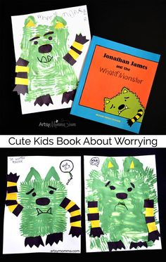 Jonathan James and the Whatif Monster Craft - Adorable kids book about worrying about What If?
