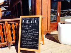 menu du jour @hotel new solarium courchevel