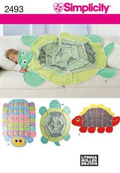 I am making this turtle for my son. These quilts are super easy to do. I've made a teddy bear one for my nephew. I love the results and they sew up in no time.