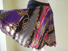Argentinian Tango & Salsa  Skirt  US 4 to 10  by COCOsDANCEWEAR