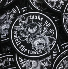 Image of 'Smell The Roses' Patch