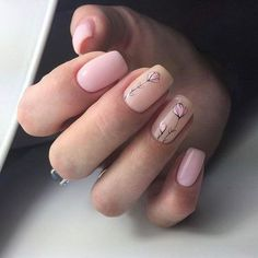 Stylish Nail Designs for Nail art is another huge fashion trend besides the stylish hairstyle, clothes and elegant makeup for women. Nowadays, there are many ways to have beautiful nails with bright colors, different patterns and styles. Cute Nails, Pretty Nails, My Nails, Spring Nail Art, Spring Nails, Summer Nails, Winter Nails, Nagellack Trends, Floral Nail Art