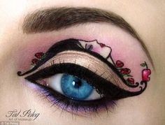Snow White Disney princess makeup