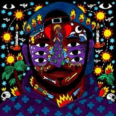 Kaytranada presents his highly anticipated debut album via XL Recordings. The album finds the Haitian born, Montreal raised producer  Little Dragon, Polo & Pan, Cover Art, Kendrick Lamar, Xl Recordings, Indie, Pochette Album, Hip Hop Albums, Best Albums