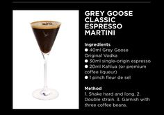 Vodka Espresso Martini