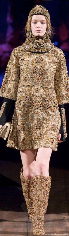 Dolce & Gabbana / F/W 2014 | The House of Beccaria~