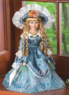 Collectible Violet Victorian Doll
