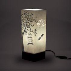 Lampada da Tavolo Cage | W-LAMP    https://www.wellmade.store/collections/illuminazione